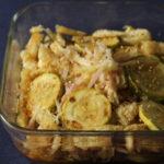 【作り置きレシピ 】 ズッキーニと油揚げ、ミョウガのマリネ