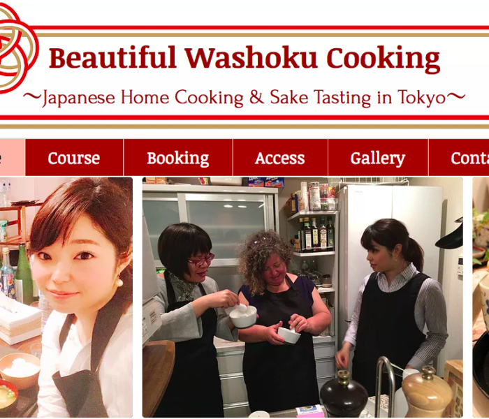 訪日外国人向け料理教室 サイトオープン!!