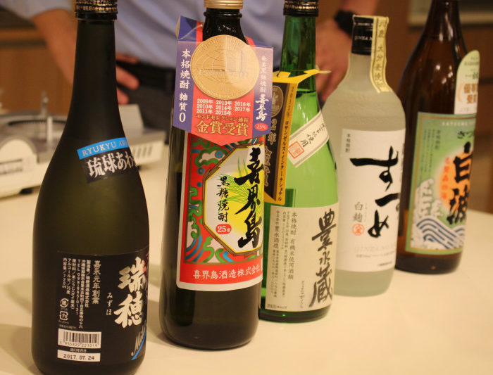 「外国人に伝えたい日本の焼酎」をおいしく<br>学ぶセミナー