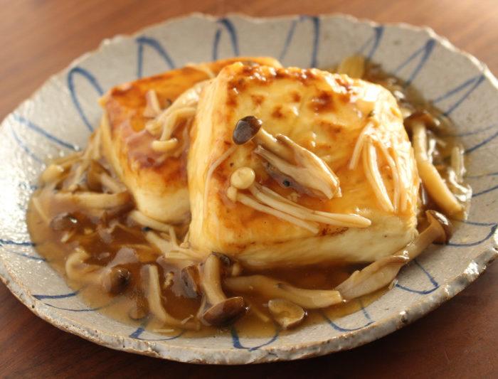 【レシピ 】豆腐ステーキのきのこあん & 9月料理教室<br>終了しました〜