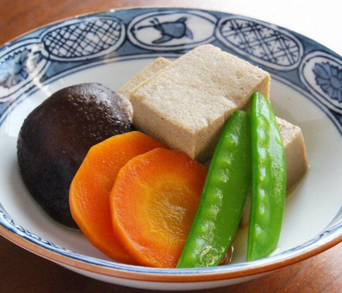 味しみしみ〜♪な 高野豆腐の含め煮