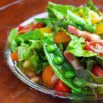 【レシピ 】春野菜のサラダ <br> さっぱりフレンチドレッシングで