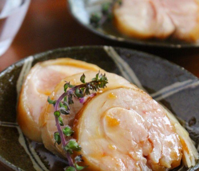 紅茶鶏( 鶏チャーシュー)