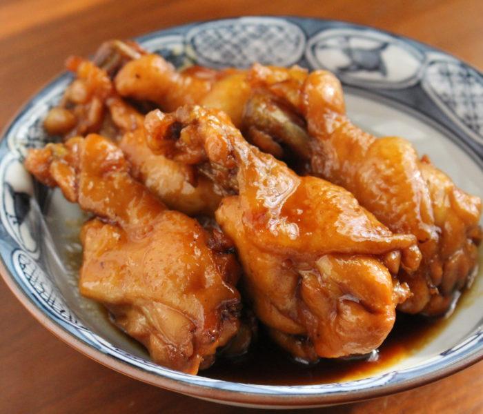 【簡単作り置きレシピ】 鶏手羽元のお酢煮