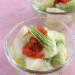 簡単♫ ホタテとアボカドの塩麹マリネ