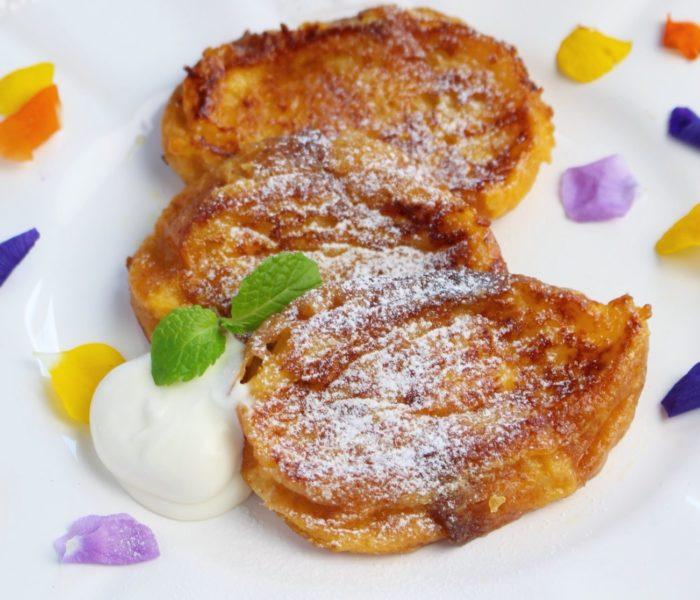 【レシピ 】残った食パンで!<br>簡単絶品 フレンチトースト