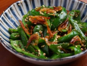 【簡単時短・作り置きレシピ】ピーマンと干し海老の中華炒め