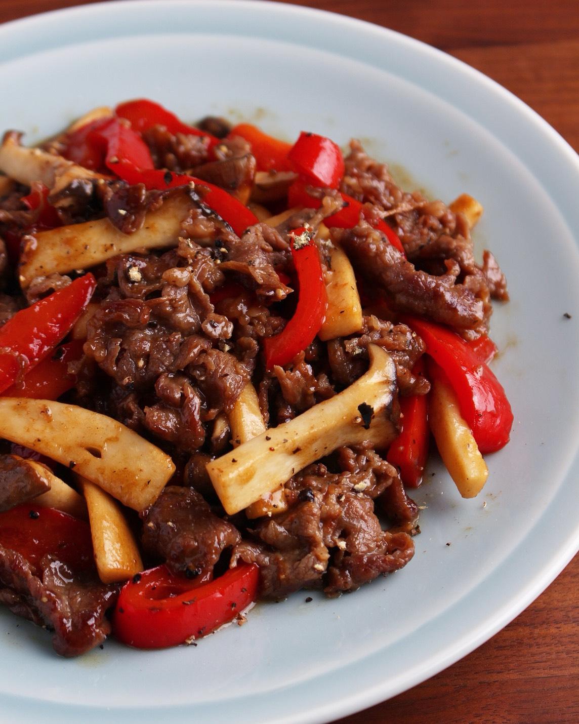 レシピ 牛肉 薄切り