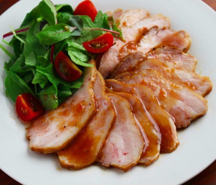 【週末レシピ】炊飯器で簡単! ローストポーク 林檎のソース