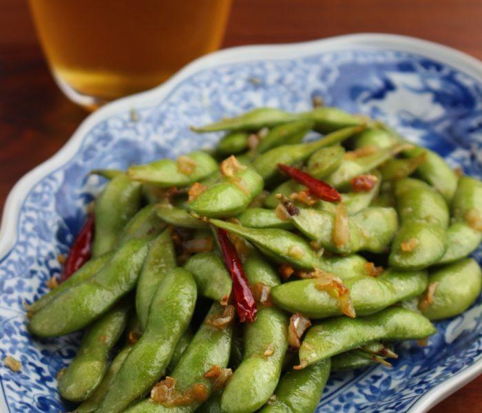 【レシピ】ピリ辛!やみつき枝豆と枝豆の茹で方