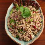 【レシピ】タイ風 豚ひき肉のサラダ(ラープムー)