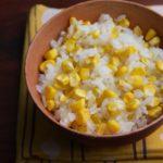 【レシピ】簡単!美味しい! とうもろこしご飯