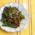 【作り置きレシピ】 万願寺唐辛子とちりめんの炒め物