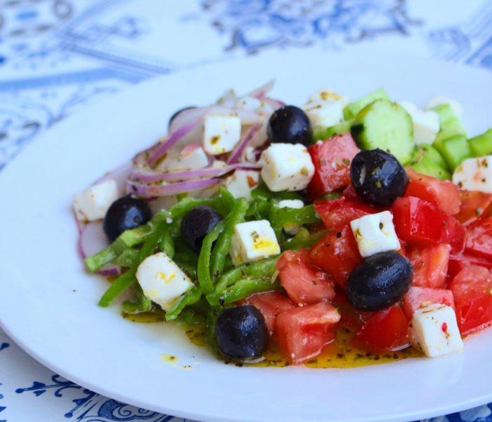 【レシピ】簡単♪ グリークサラダ( ギリシャサラダ )