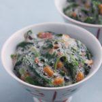 【作り置きレシピ】熱中症対策に! モロヘイヤと納豆の梅肉和え