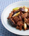 【レシピ】ピリ辛! 豚肉となすの味噌炒め (花椒風味)
